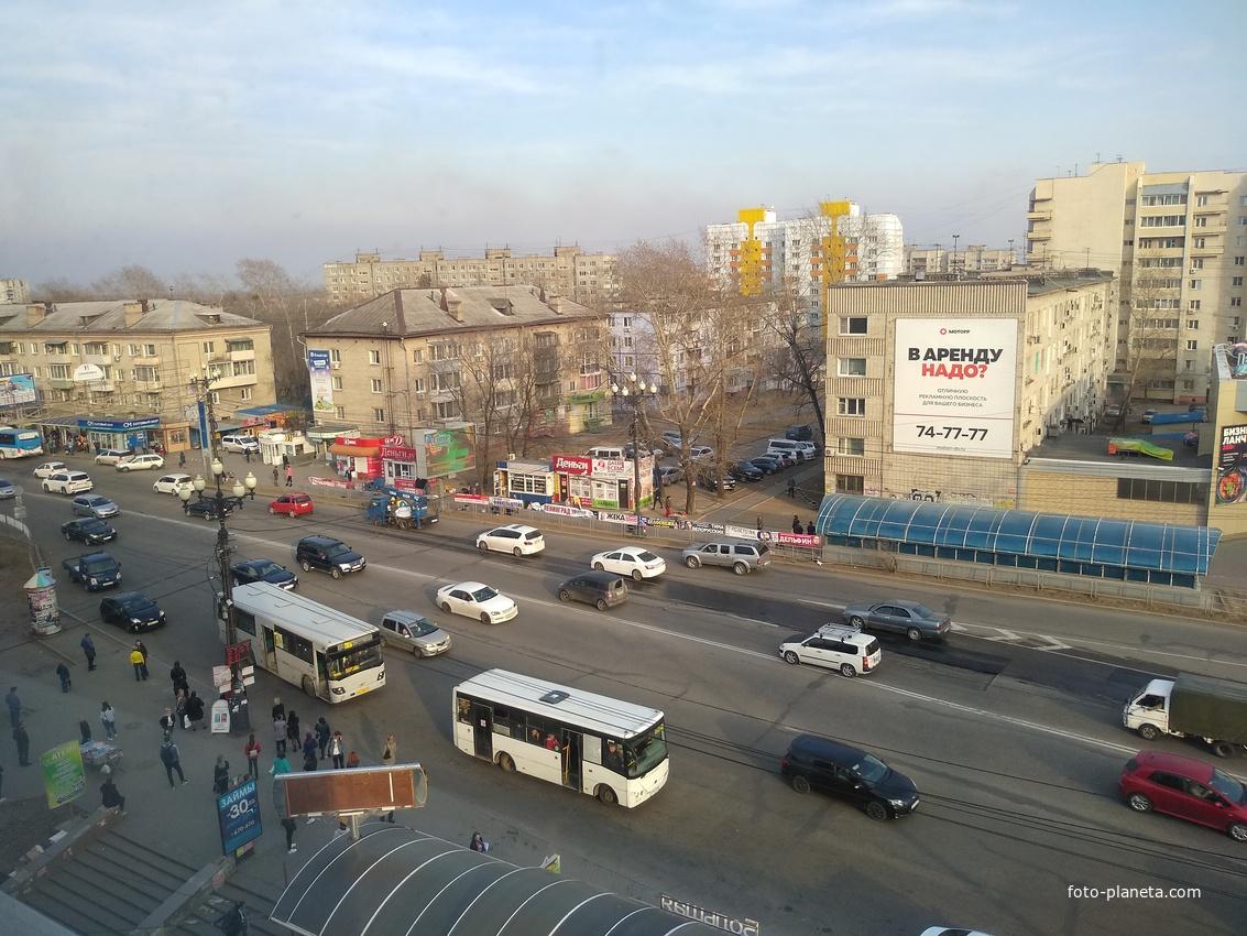 Район остановки Большая, вид с тц Большая Медведица