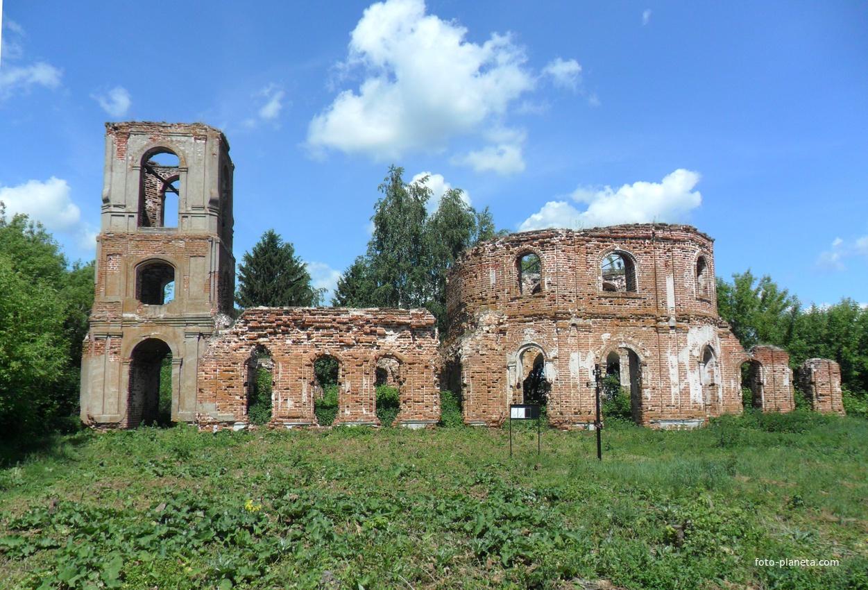 Старое Березово, старая церковь