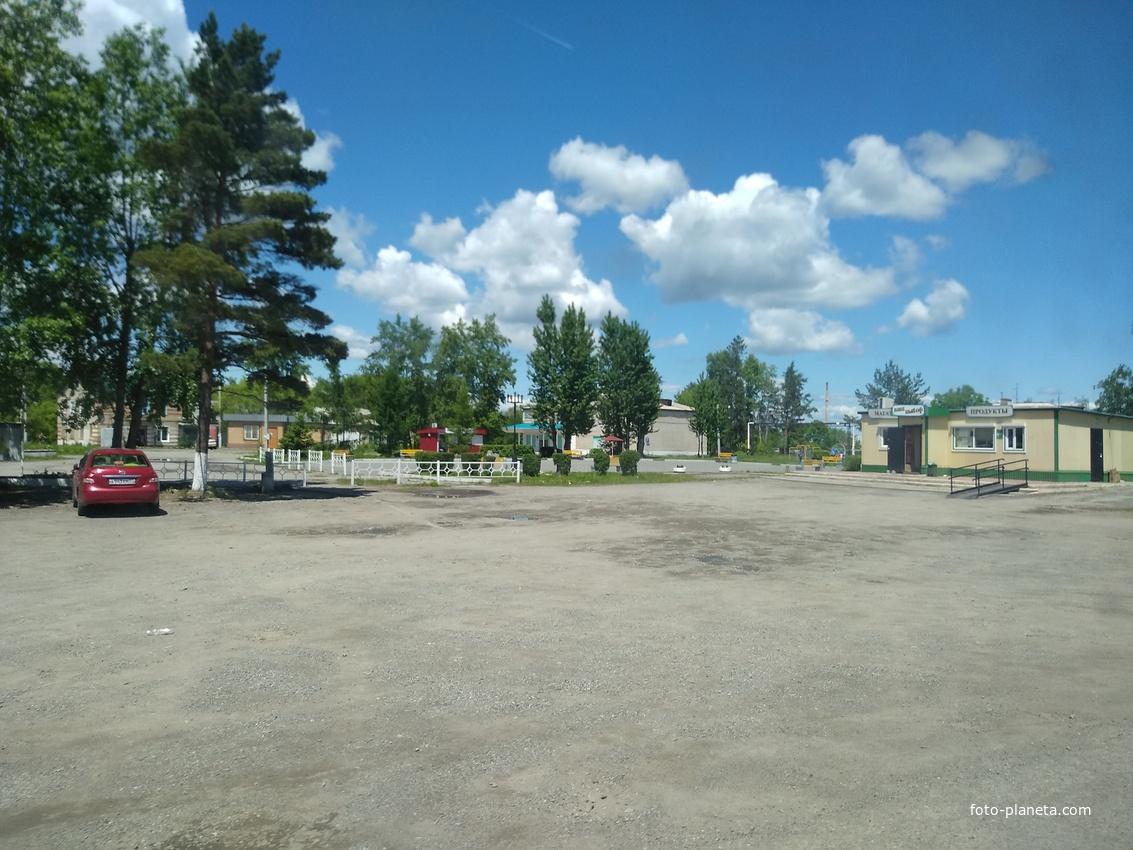 Сергеевка, центр села