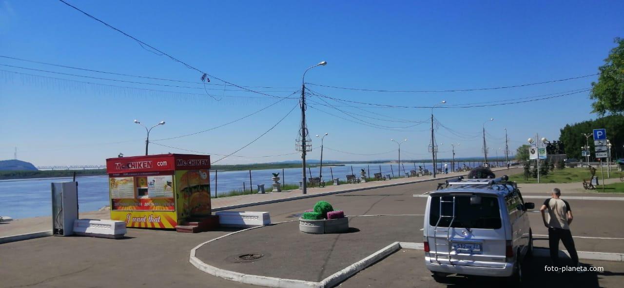 Набережная Комсомольска