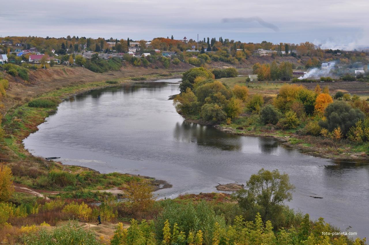 Река Быстрая Сосна.