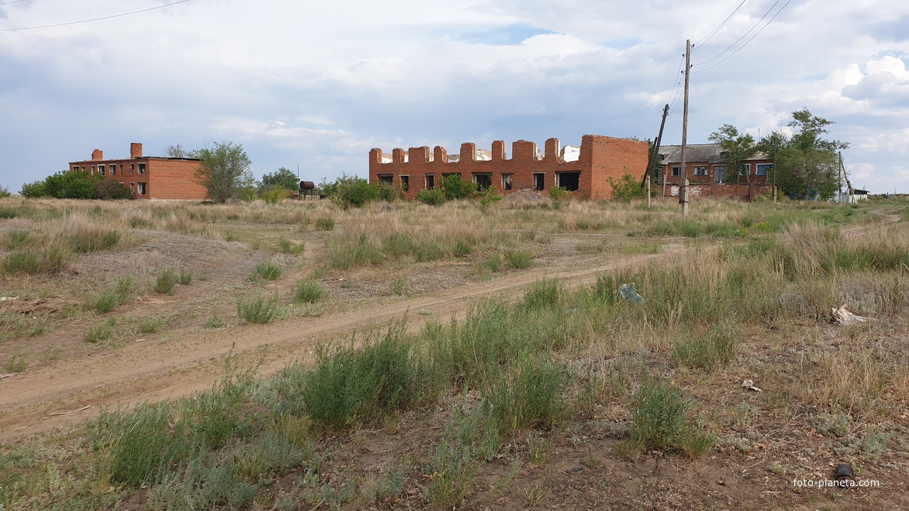Руины села Воронежское