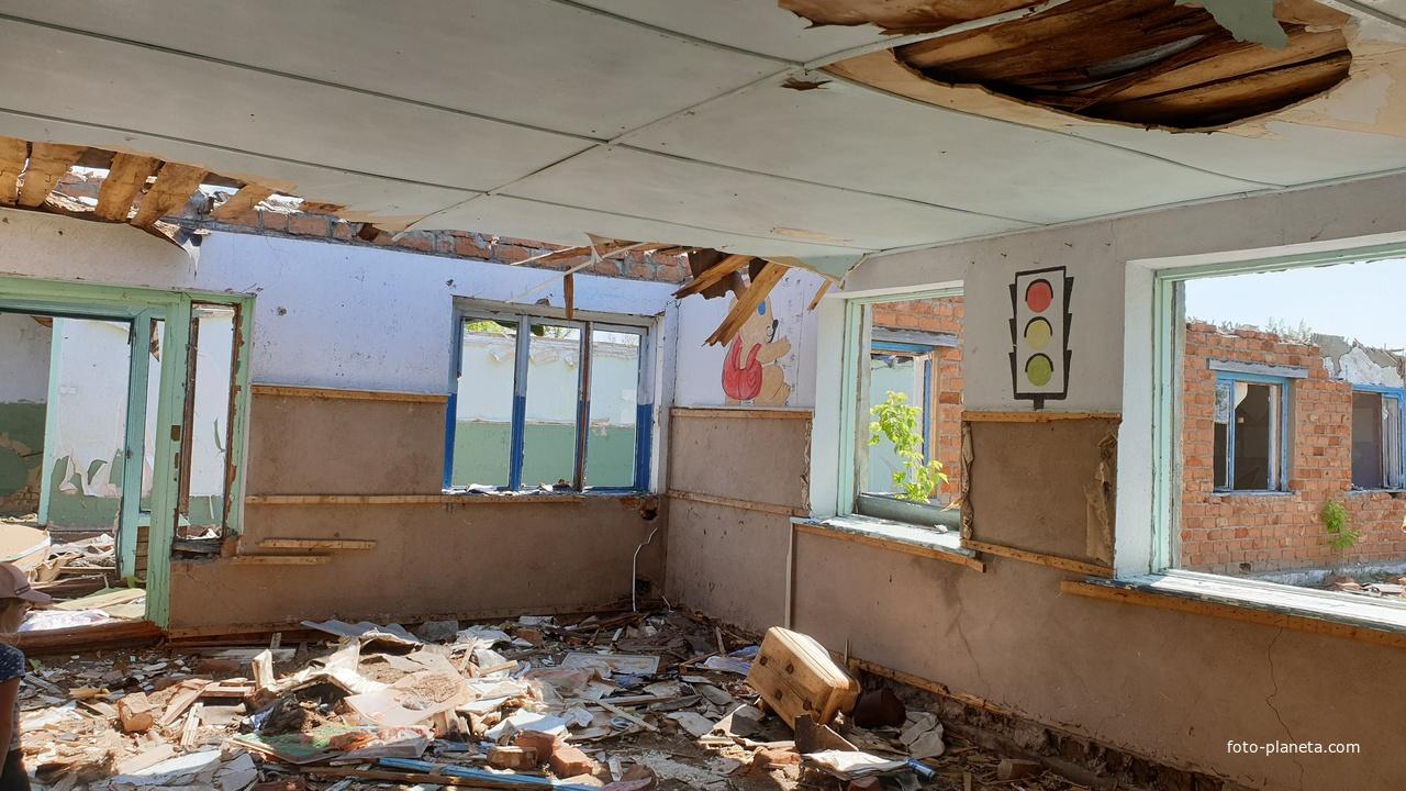 Вот так выглядит школа внутри