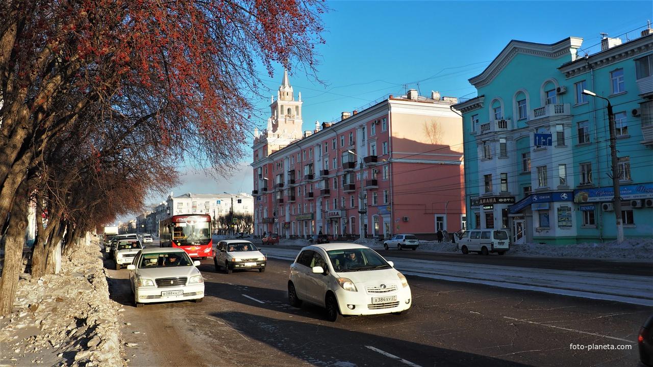 На проспекте Ленина