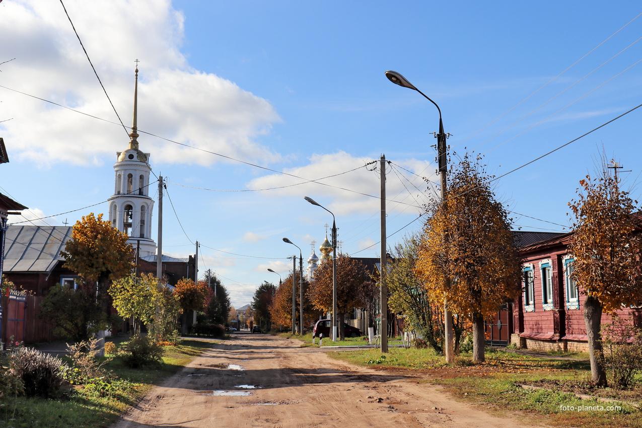 Улица Зинаиды Касаткиной.