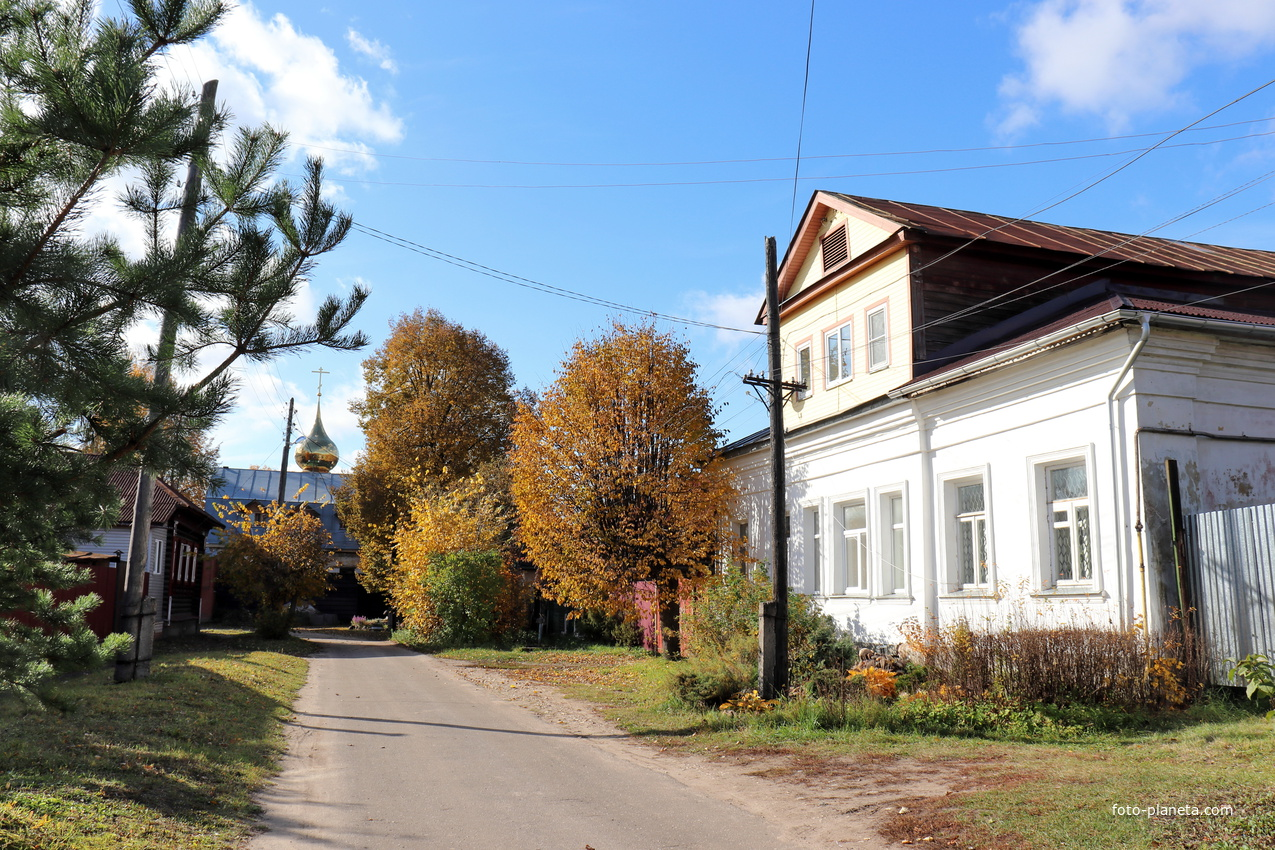 Садовая улица.
