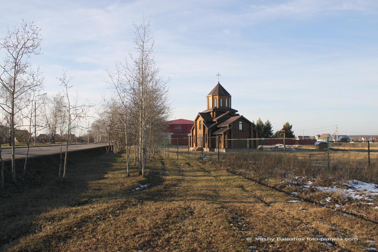 Церковь Грузинской иконы Божией Матери в Марушкине