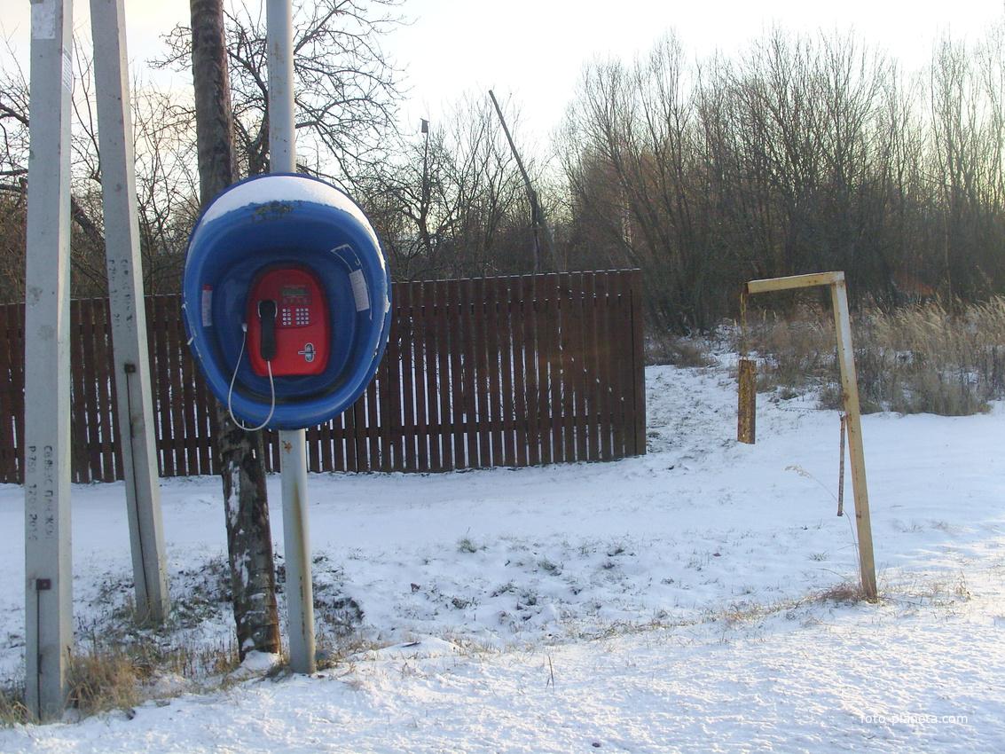 Современные средство связи и локальный оповещатель ЧС дедовского типа в деревне Пронино