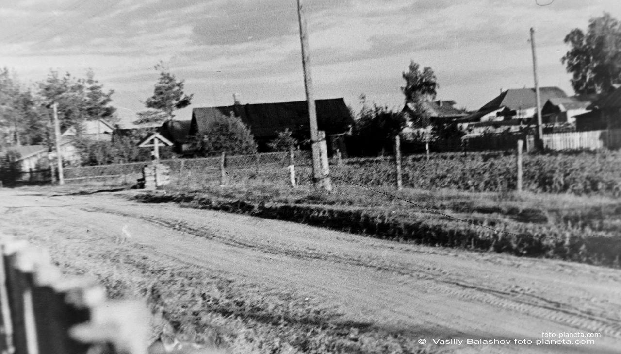 Коренево, Лесная ул. 1955 г.