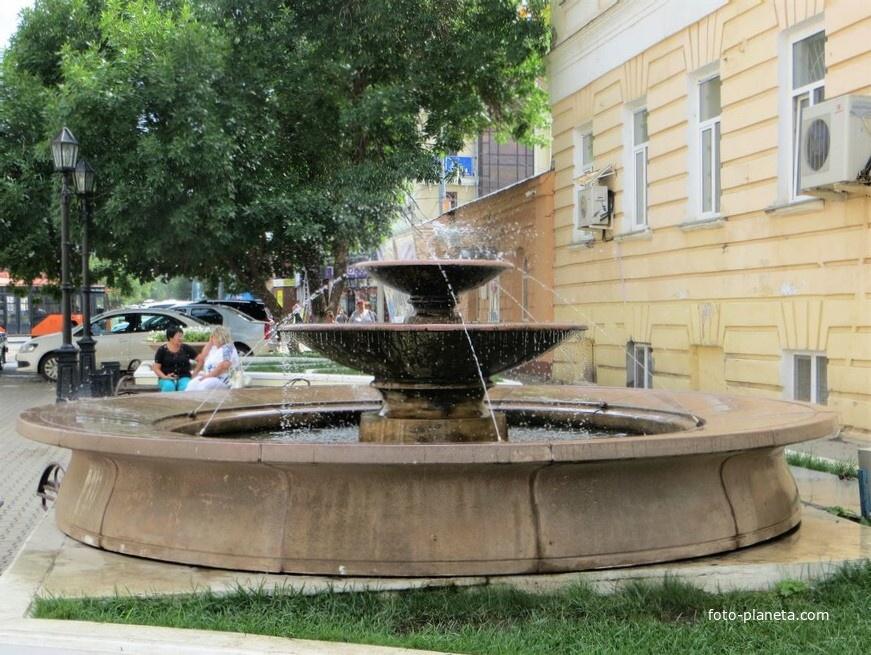 Фонтан на Советской улице