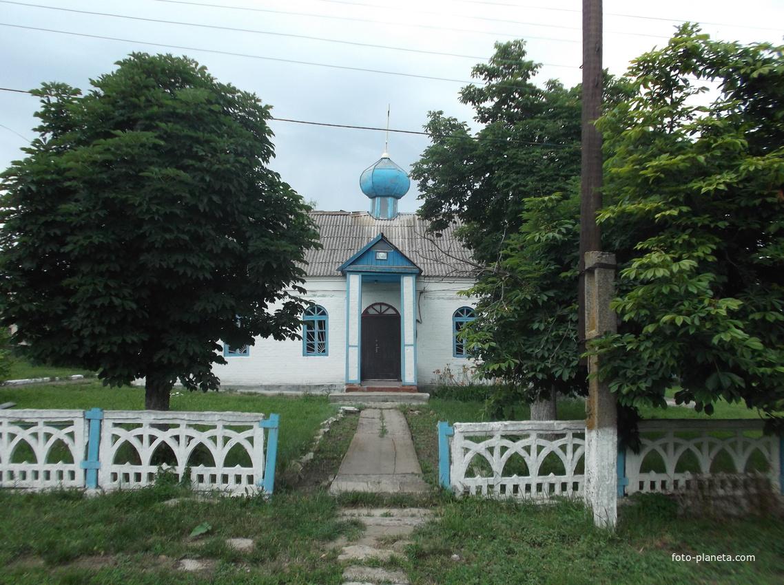 Елизавето-Николаевка. Местная православная церковь