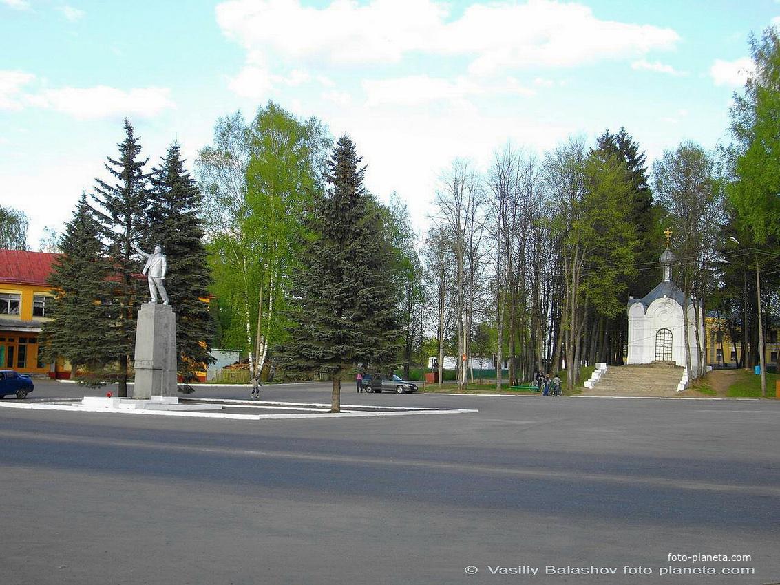 Демьянск, Центральная площадь, Александро-Невская часовня