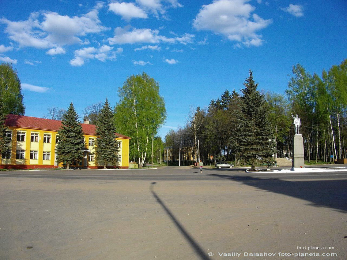 Демьянск, Центральная площадь