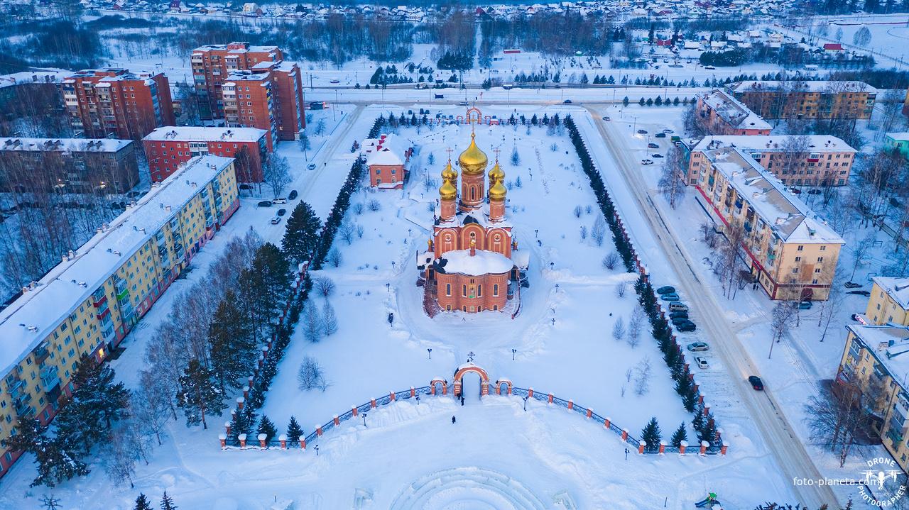 Храм Святой Троицы г. Осинники