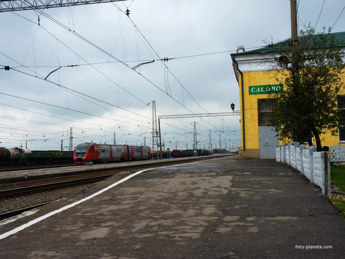 Вокзал в Сасово.