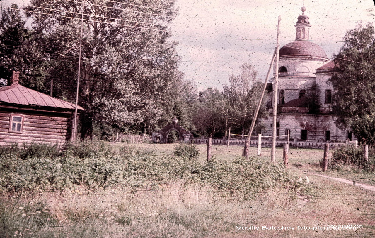Воскресенская церковь 1974 г.