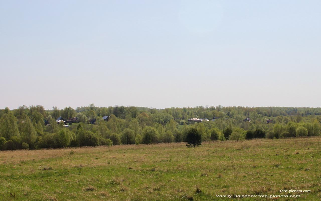 Панорама Денисова с северо-запада
