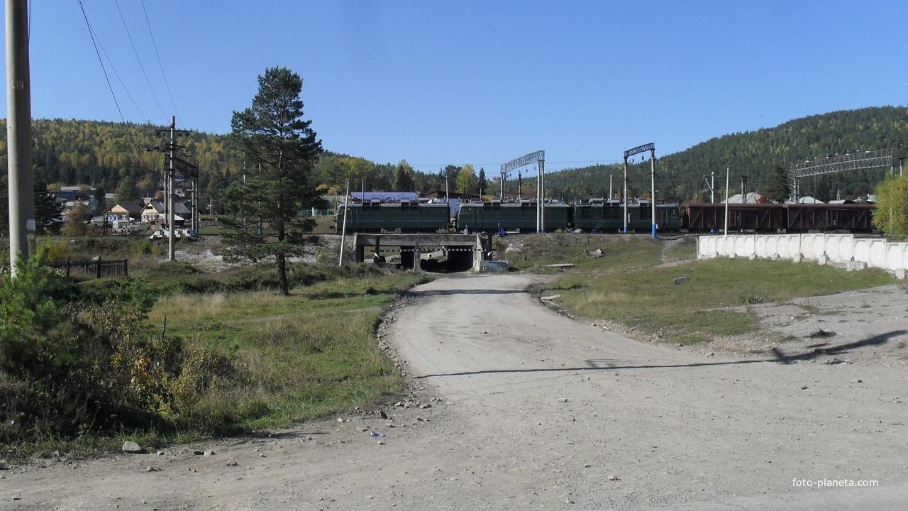 Проезд под ЖД соединяющий две стороны поселка