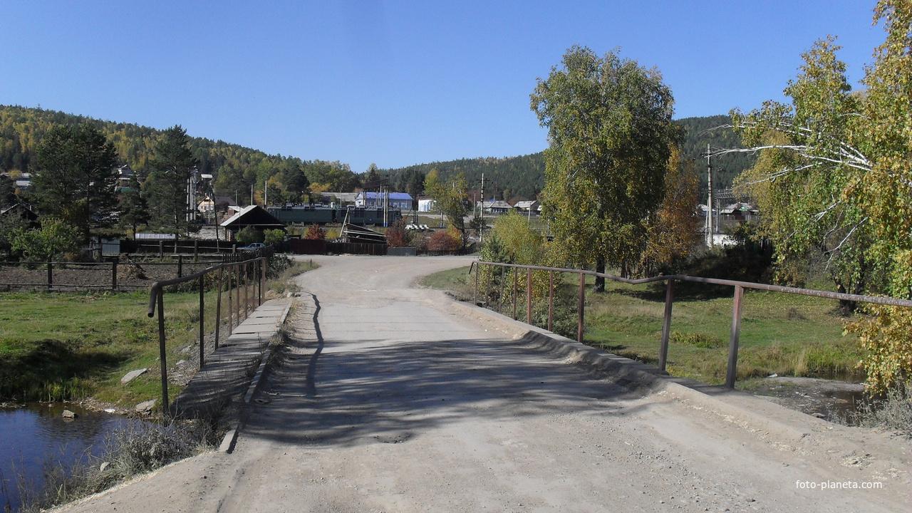 мост через Олху