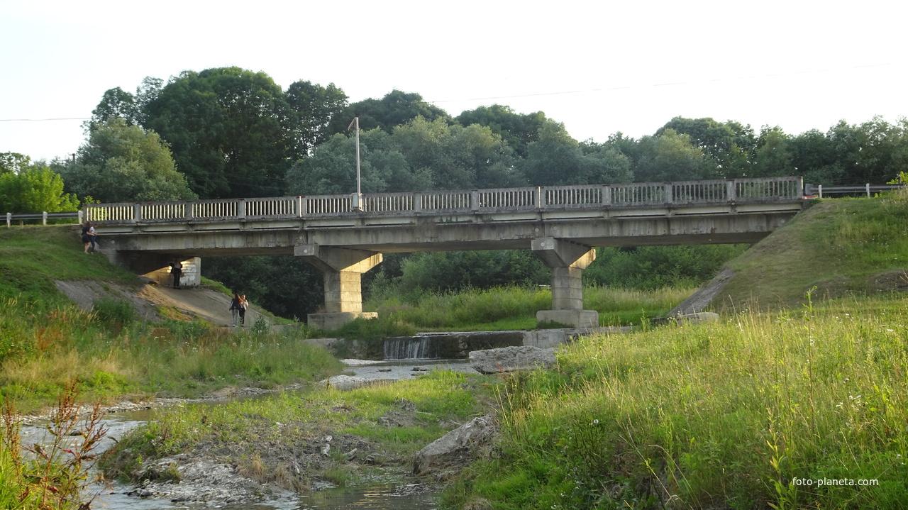 Мост через Малый Тегинь