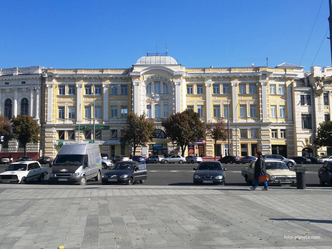 Харьков. Здание бывшего Торгового банка.