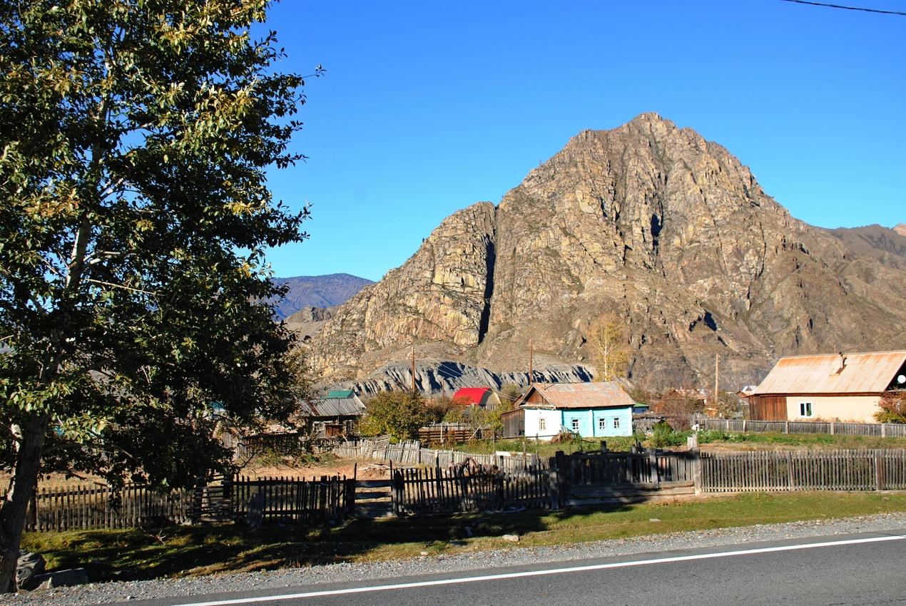 Село Малый Яломан.