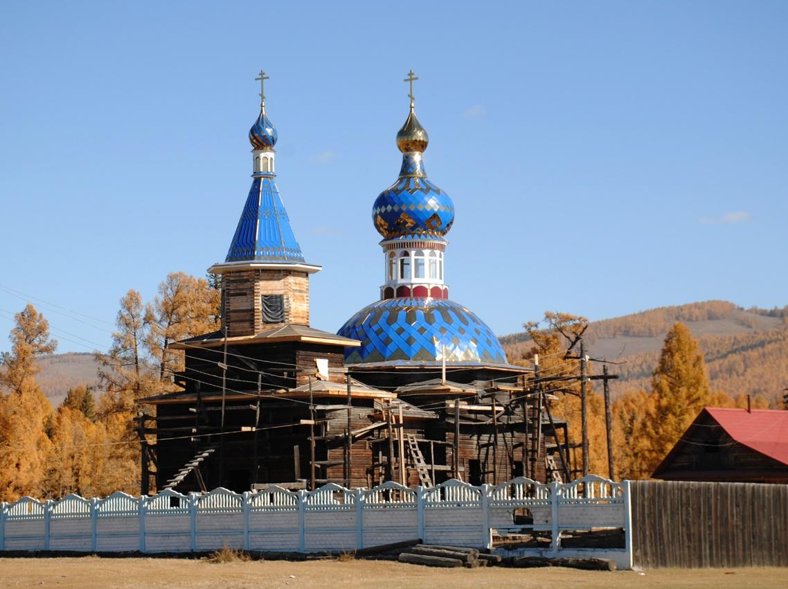 Церковь иконы Казанская Божия Матерь.