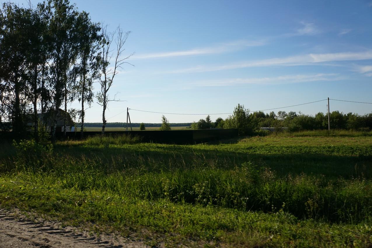 Окраина деревни Асошники