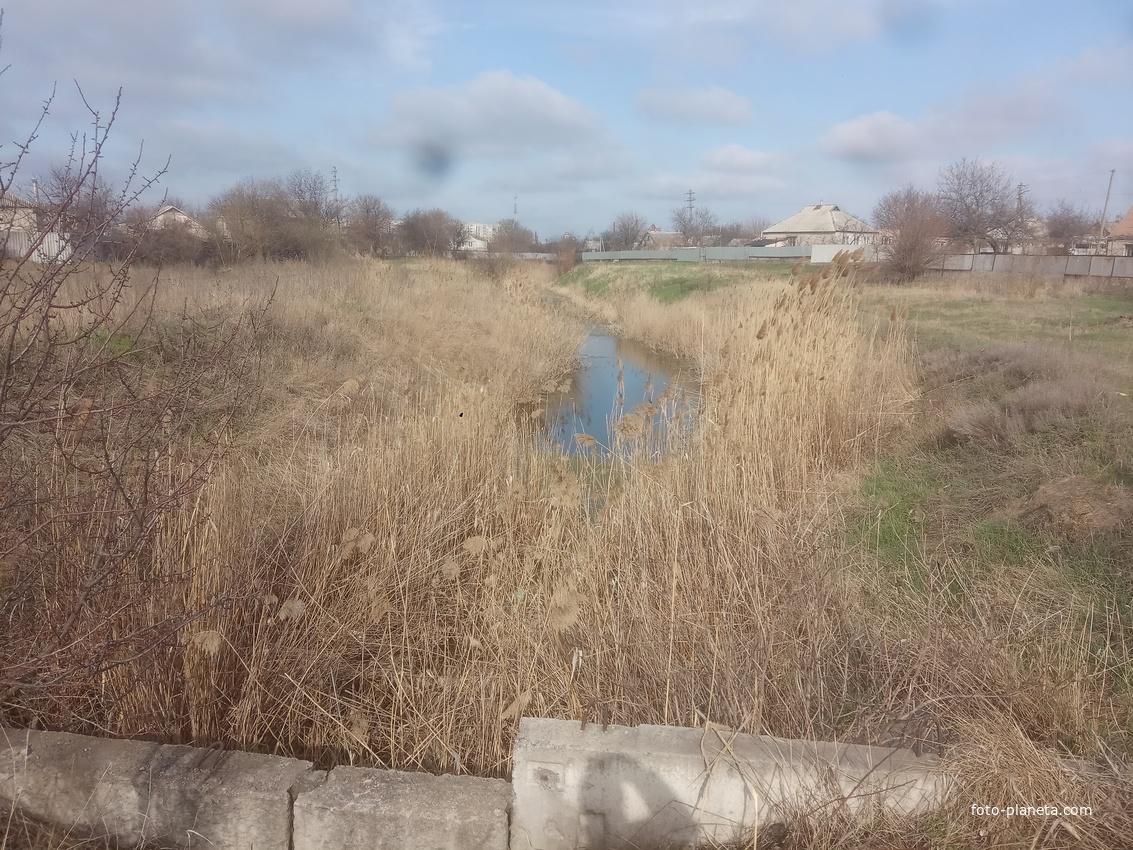 Река Гнёздка.