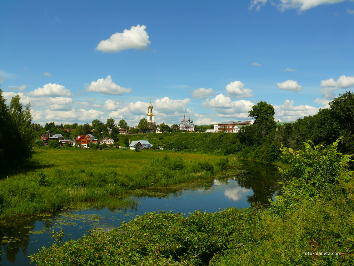 Река Каменка, город Суздаль
