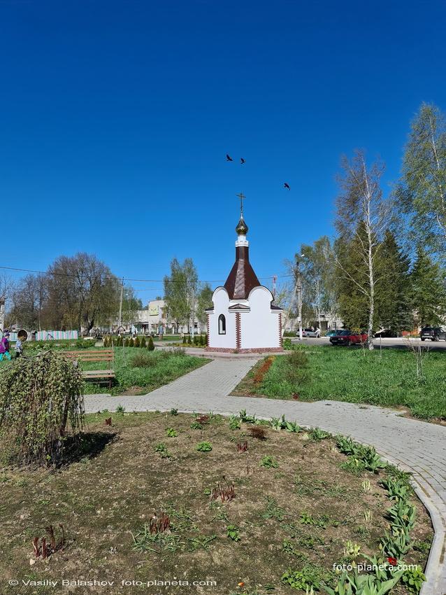 Георгиевская часовня в Толпухово