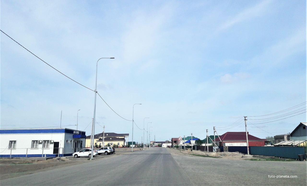 Томарлы, улица