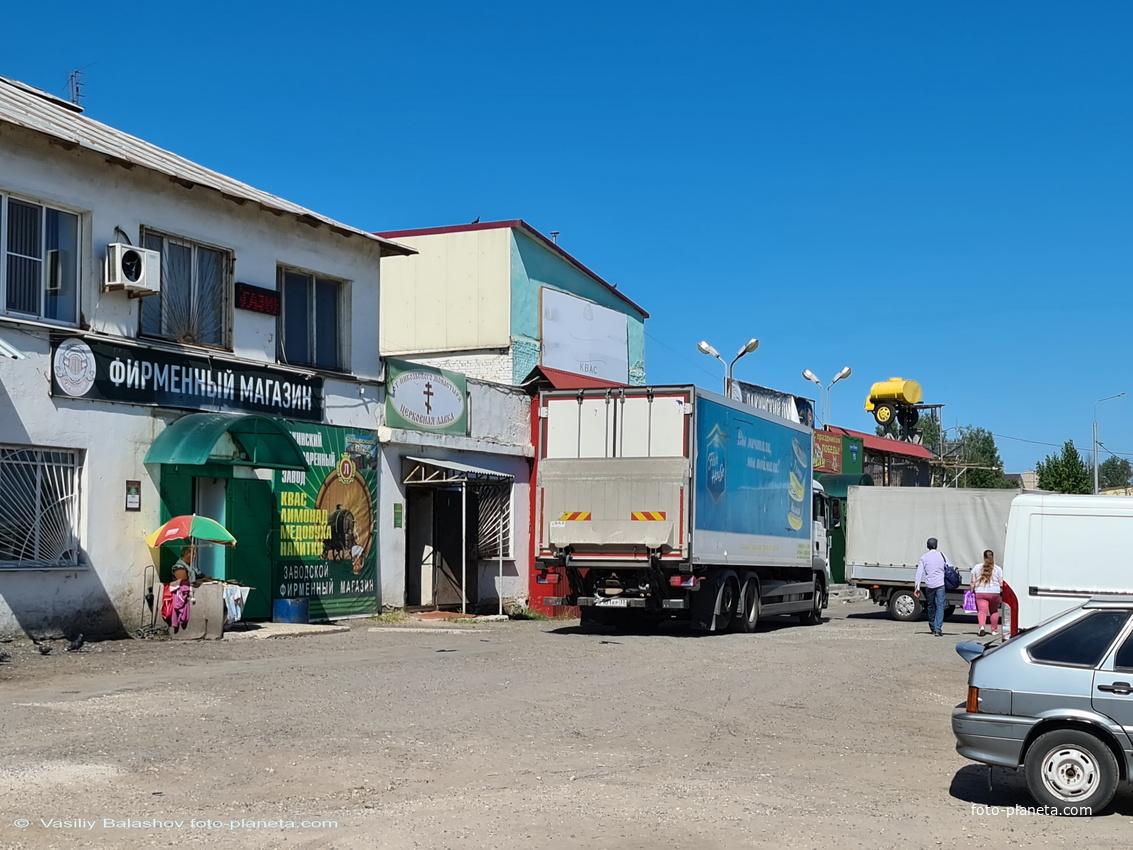 Лакинский пивзавод, фирменный магазин