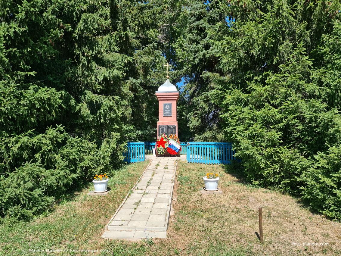 Часовня в память погибшим в ВОВ