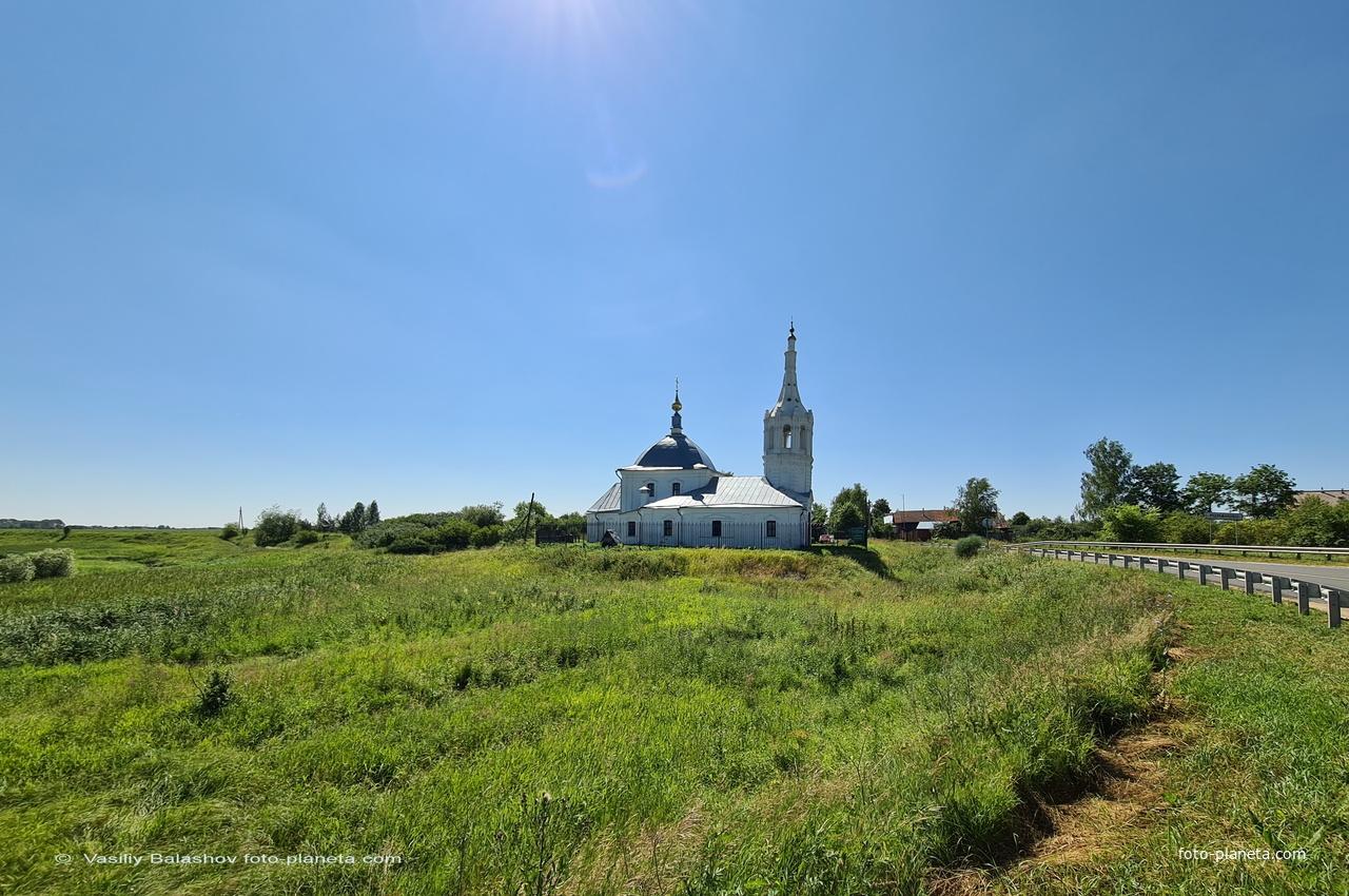 с. Романово, панорама с севера
