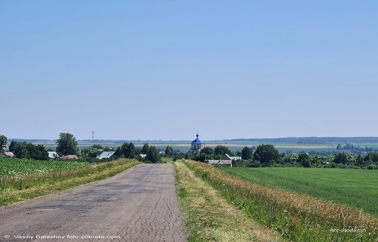 Панорама с. Янево