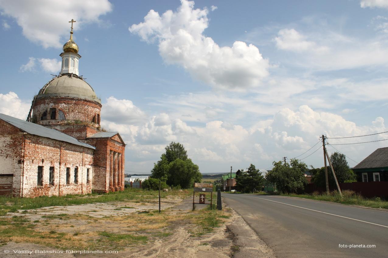 Ильинская церковь в с. Васильково