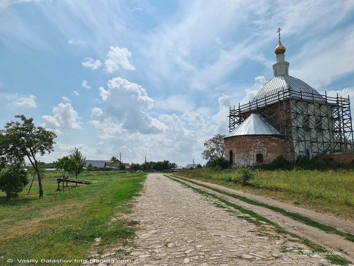 Церковь Богоявления Господня в  Глебовском