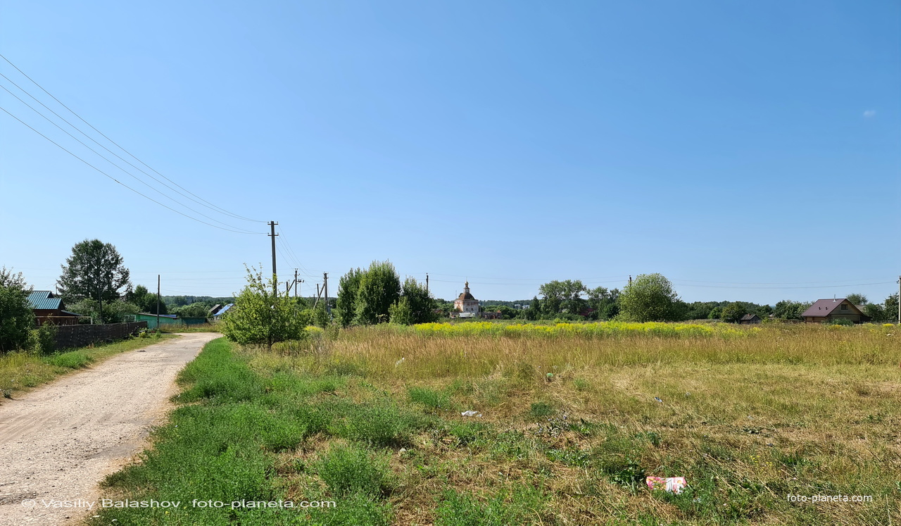 Панорама с. Лопатницы, ул. Старое Косино