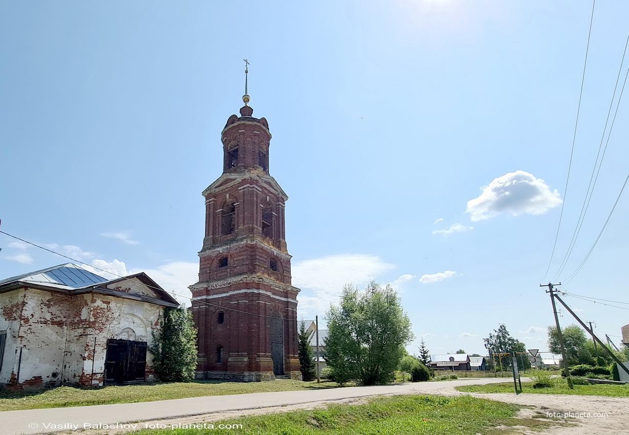 Богоявленская  церковь в Торчино