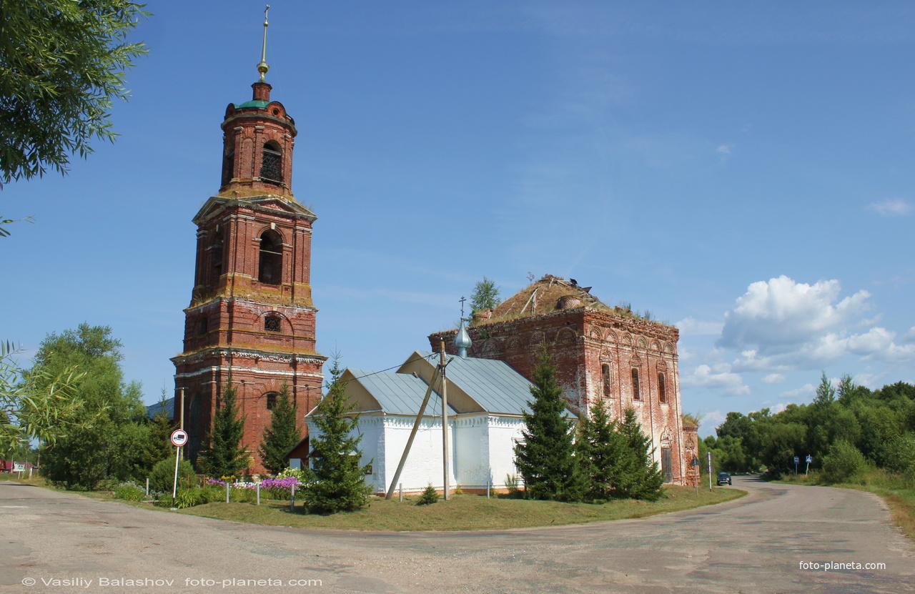 Церковь Николая Чудотворца в Торчино