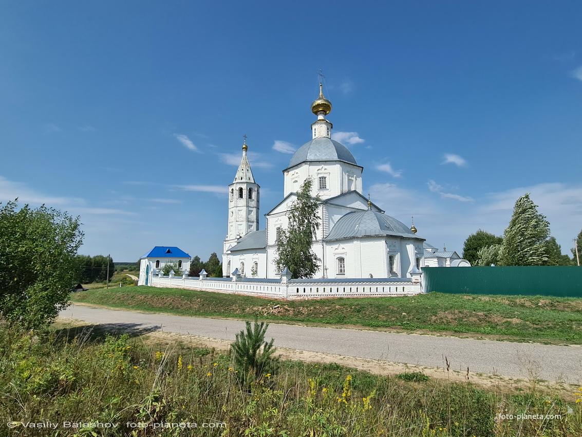 Никольский женский монастырь в Санино,  церковь Николая Чудотворца