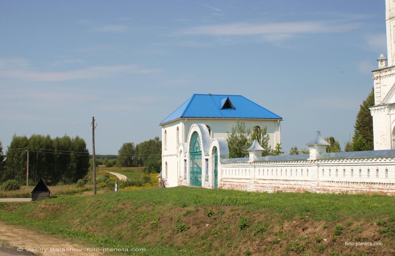 Санино. Никольский женский монастырь.