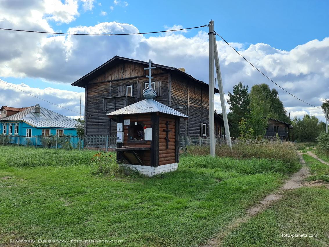 Ильинская часовня в Цепнино