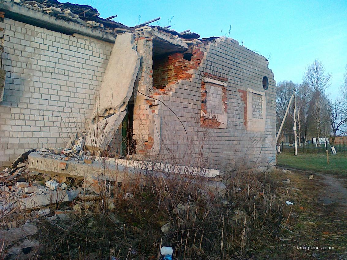 Новоселки Банопрачечный комбинат апрель 2011