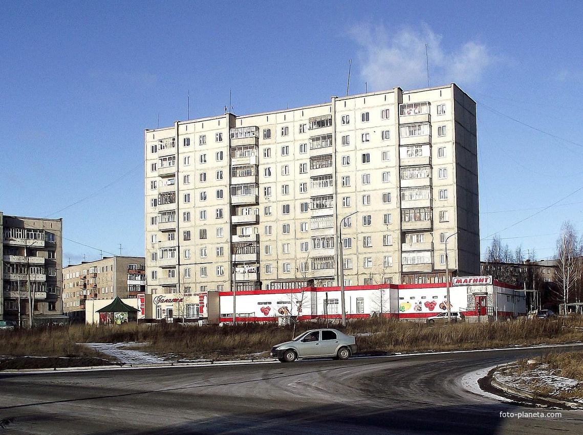 Дом на Луначарского,14
