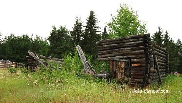 Западная Сибирь. ХМао-Югра. Ясунт. Древние постройки ...: http://foto-planeta.com/photo/117277.html