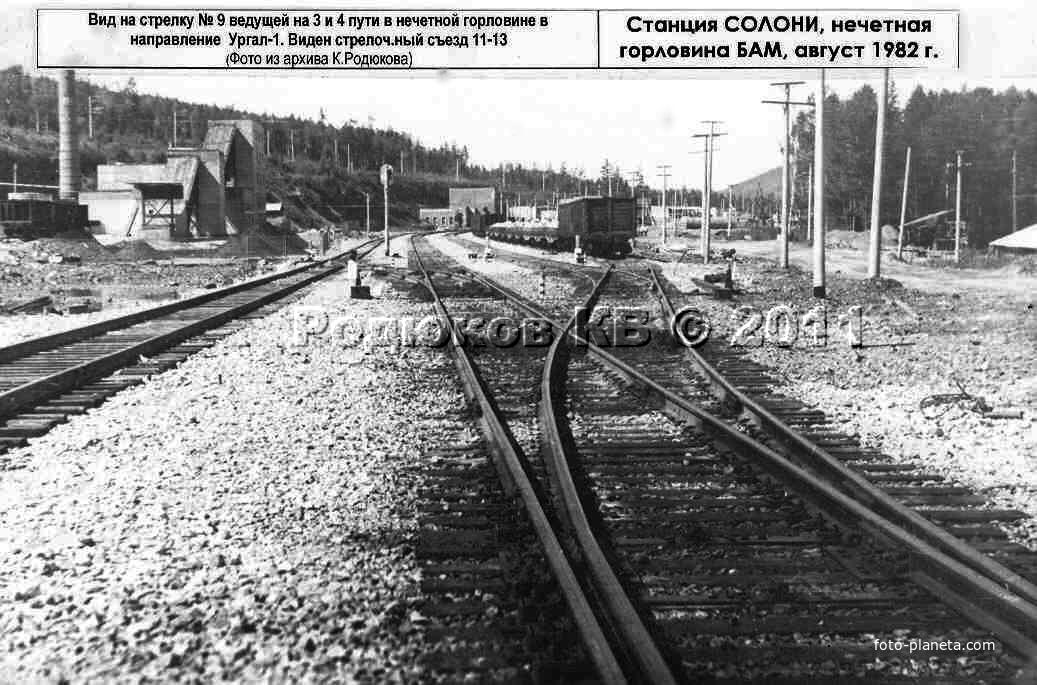 Котельняя и вокзал Солони
