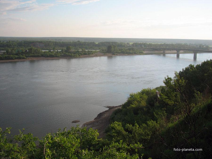Река томь томск томская область
