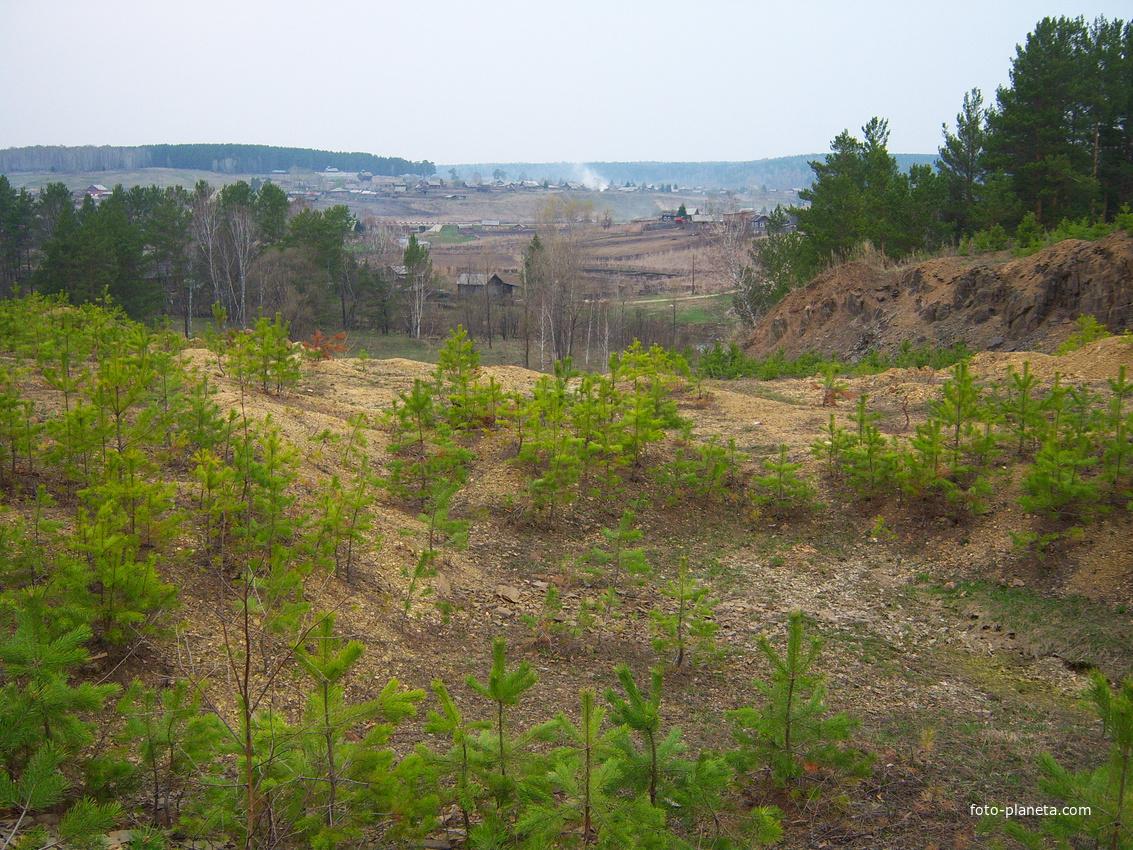 Село большой калтай, залесовский район алтайский край, россия